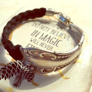 Jewelry - Spoon Braided Magnetic Clasp Bracelet